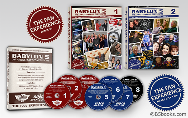 Babylon 5 20th Anniversary Conventions Fan Experience