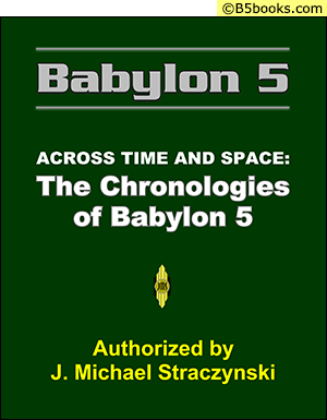 Front Cover of Across Time & Space: The Chronologies of B5 (2008)