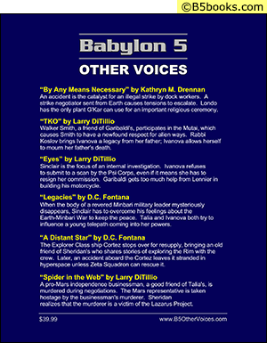 Back Cover of Babylon 5 Scripts: Other Voices, Volume 2