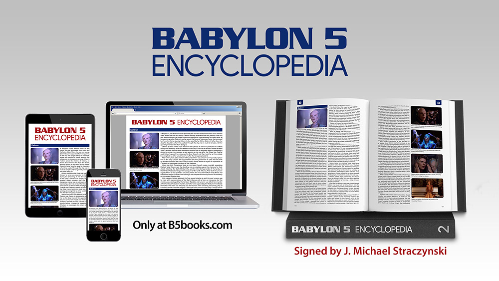 Babylon 5 Encyclopedia Now Shipping