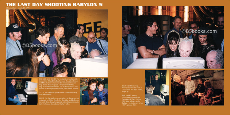The Last Day Shooting Babylon 5 in B5-20 Book