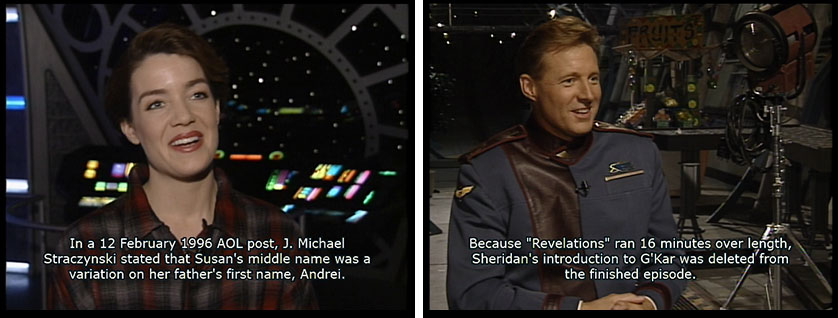 CNN Documents Babylon 5 Claudia Christian and Bruce Boxleitner