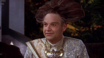 Stephen Furst as Centauri Emperor Vir Cotto.