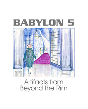 Babylon 5 Artifacts from Beyond the Rim White Edition