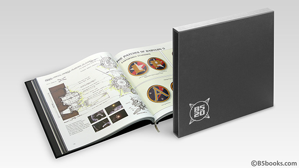 Babylon 5 at Twenty 20th Anniversary Hardcover Coffee Table Book with Slipcase