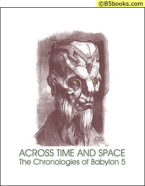 Front Cover of Across Time & Space: The Chronologies of B5 (2012)