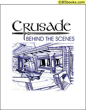 Front Cover of Crusade: Behind the Scenes