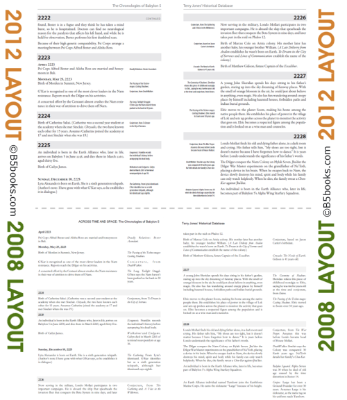 Comparison image showing new and improved layout of 2012 Edition