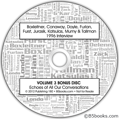 Volume 3 Bonus Audio CD with Group Interview