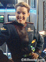 Photo of Claudia Christian as Susan Ivanova