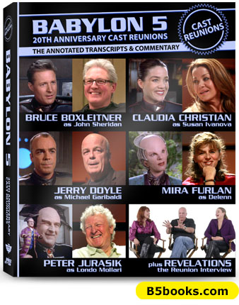 Babylon 5 Cast Reunions Transcript and Annotations Book