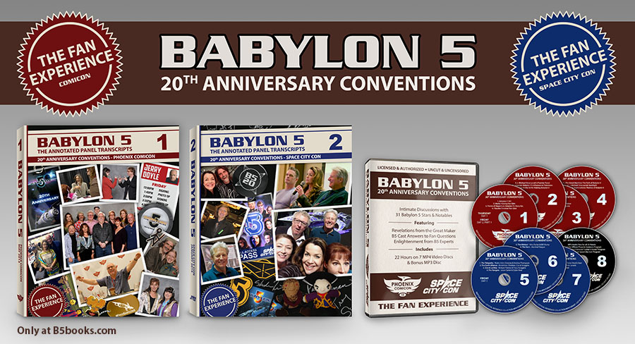 Babylon 5 20th Anniversary Conventions: The Fan Experience Package