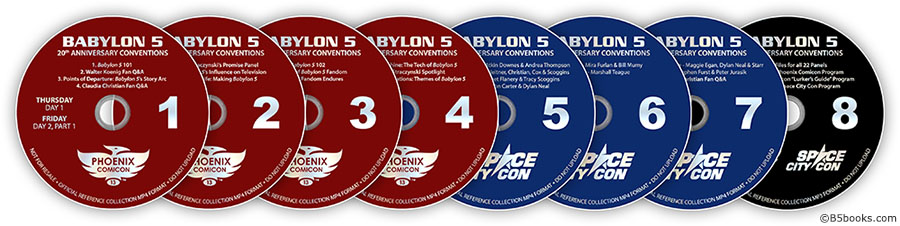 Babylon 5 Fan Experience 7-Disc Set with Bonus Disc